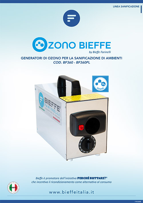 depliant ozonizzatore bieffe