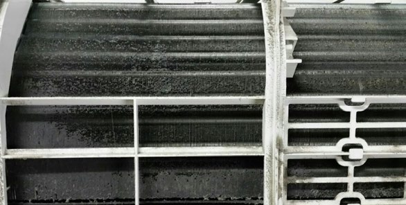 filtri aria condizionata sporchi