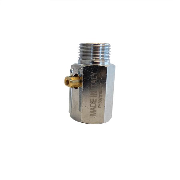 Rubinetto minisfera per scarico caldaia generatore vapore Bieffe Farinelli