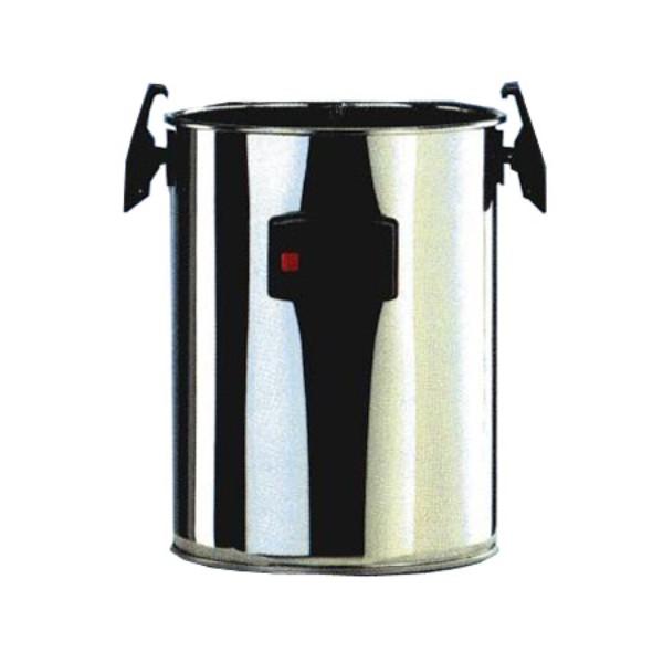 fusto di raccolta sporco inox per carwash clean vapor