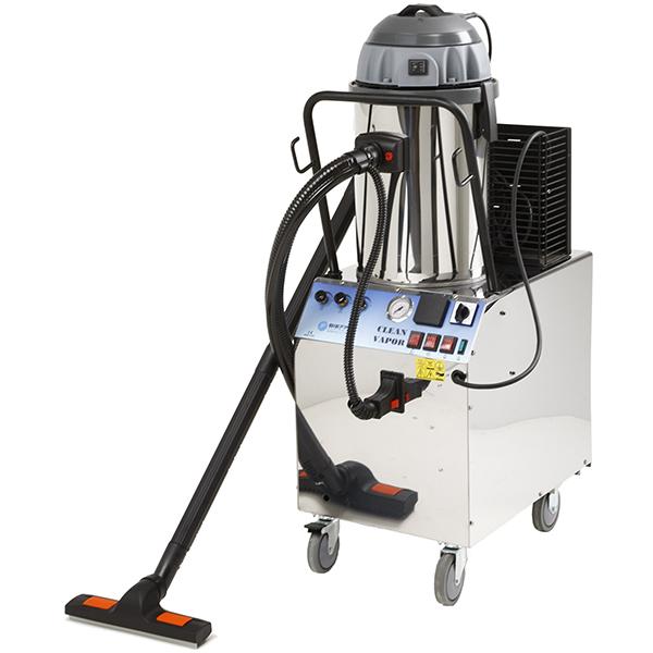 Pulitore a vapore professionale con estrazione Clean Vapor Bieffe