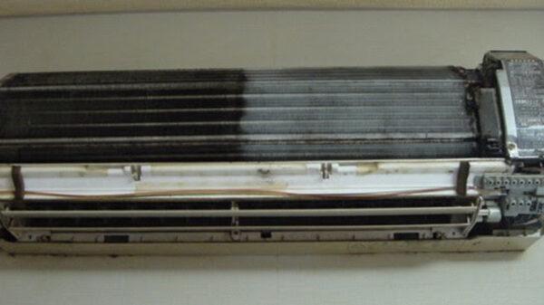 climatizzatore pulito